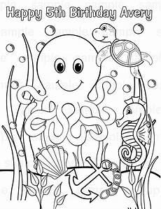 Malvorlagen Unterwasser Tiere Malvorlagen Fur Kinder Ausmalbilder Unterwasserwelt