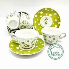 Jual Kopin Cangkir Set cangkir set keramik kopin polkadot fleur cangkir teh