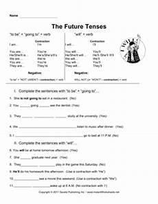 esl future tenses