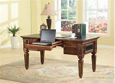desks home office furniture the leonardo library writing desk office furniture home