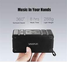 Wavefun Cuboid Bluetooth Speaker Ip65 Waterproof by Wavefun Cuboid Mini Portable Ip65 Waterproof Bluetooth