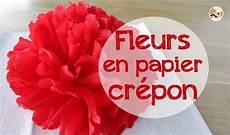 fleur papier crepon fleur en papier cr 233 pon pour votre table de f 234 tes