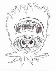 abominable snowman coloring pages kidsuki