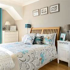 Aqua Bedroom Decorating Ideas by Taupe And Aqua Bedroom Decorating Housetohome Co Uk
