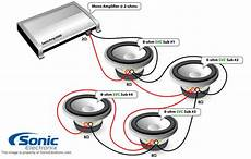 sonic electronix subwoofer wiring diagram 4 ohm impedance speaker 8 convert to lifier single reading industrial wiring diagrams