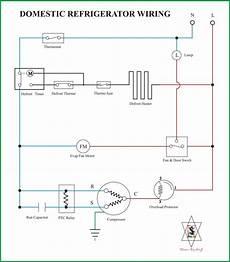 Wiring Diagram Kulkas Secara Umum Refrigeration Air