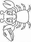 Ocean Lobster Animals Coloring Pages Page & Book