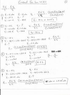 stemwaregudt combined gas law worksheet answer