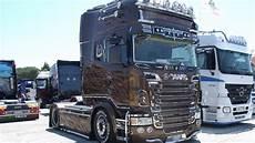 Scania R730 V8 Black Quot Team Marra Quot