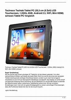 technaxx techtab tablet pc 20 3 cm 8 zoll lcd