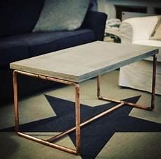 beton tisch kupfer design vintage tisch in berlin