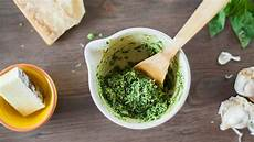 Basilikum Pesto Selber Machen Pesto Genovese Rezept Und