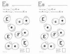 identifying letter e worksheets 24108 e letter identification free worksheet teaching the alphabet preschool letters letter