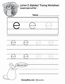 letter e worksheets 24106 lowercase letter quot e quot tracing worksheet doozy moo