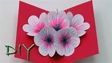 basteln mit papier pop up karten selber basteln diy