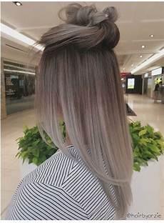 suchen sie nach ombre haarfarbe f 252 r graues silber sehen