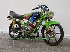 Modifikasi Revo 100cc by Modifikasi Revo 100cc Drag Thecitycyclist
