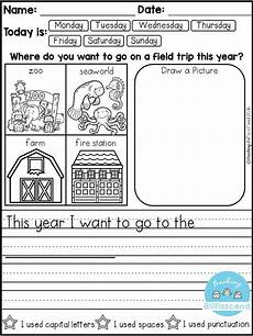 free daily writing prompts kind writing kindergarten writing prompts kindergarten writing