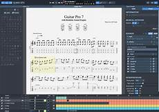guitar tab program guitar pro sheet editor software for guitar bass keyboards drums and more