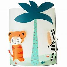 applique murale enfant et jungle bleue le