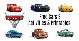 Get Your FREE Cars 3 Activities & Printables HERE  I Am