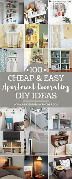 Easy Small Home Decor Ideas by 100 Cheap And Easy Diy Apartment Decorating Ideas Home
