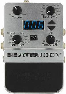 beat buddy pedal singular sound beat buddy guitar pedal drum machine effects database