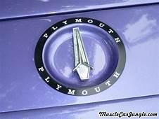 1971 Plymouth Road Runner Hood Emblem