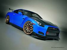 Nissan GTR Nice Blue Color  Gtr Skyline