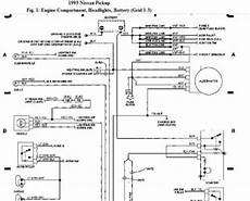 93 nissan altima wiring diagram nissan truck headlights nissan 1993 truck 4 cylinder 5 speed