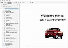 old car manuals online 2007 ford f350 navigation system 2007 ford f250 f350 f450 f550 repair manual