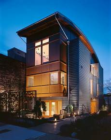 barclay court triplex modern exterior seattle by mohler ghillino architects
