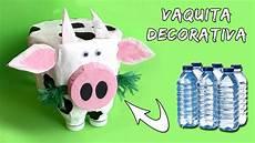 vaca decorativa reciclaje de botellas reciclagens diversas botellas plasticas reciclar