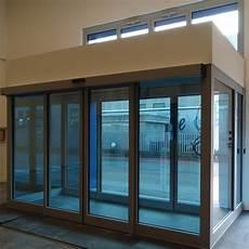porte bussole doppia vetrata d ingresso in alluminio con porte