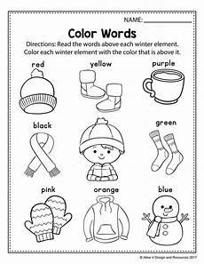 free winter literacy worksheet for kindergarten no prep literacy worksheets seasons