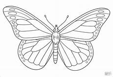 butterfly coloring pages coloringbay