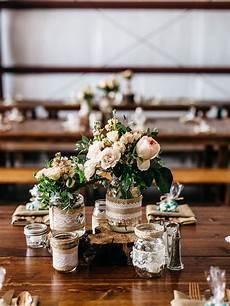 15 centerpiece ideas for a rustic wedding wedding table