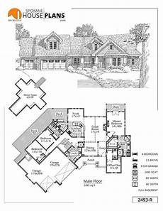 hollowcrest house plan 2493 r basement house plans house plans basement house