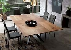 Esstisch Modern Ausziehbar - ozzio 4x4 extending dining table ozzio furniture at go