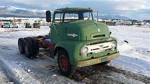 1954 Ford COE Truck For Sale Eureka Montana