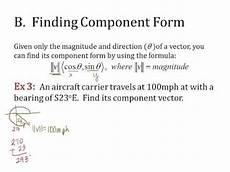 bearing and finding component form youtube