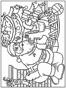 the site santa claus coloring pages