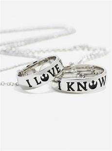 new i love you i know ring necklace the kessel runway