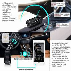 bluetooth telephone voiture 2017 newest free car kit fm transmitter auto stereo