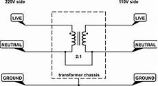 Grounding A 220 Gt 110 V Transformer Electrical