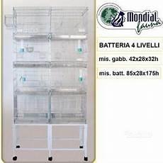 batteria di gabbie usate batteria 20 gabbie sistema pulizia carta posot class