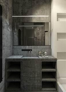 beton ciré salle de bain salle de bain en b 233 ton cir 233 pour un am 233 nagement tendance