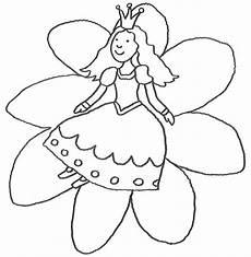 Ausmalbilder Prinzessin Blumen Ausmalbild M 228 Rchen Prinzessin Auf Blume Kostenlos Ausdrucken