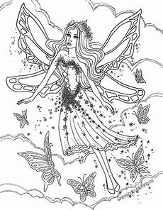 free coloring pages of fairies 16633 butterfly fae myth mythical mystical legend wings elves faries
