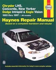 how to download repair manuals 1995 chrysler concorde electronic throttle control chrysler lhs concorde new yorker repair manual 1993 1997 haynes
